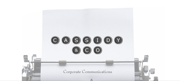 Cassidy & Co. Corporate Communications